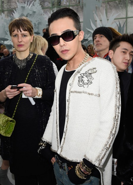 G-Dragon - Chanel Fashion Show - Press - 27 Jan 2015 - 05