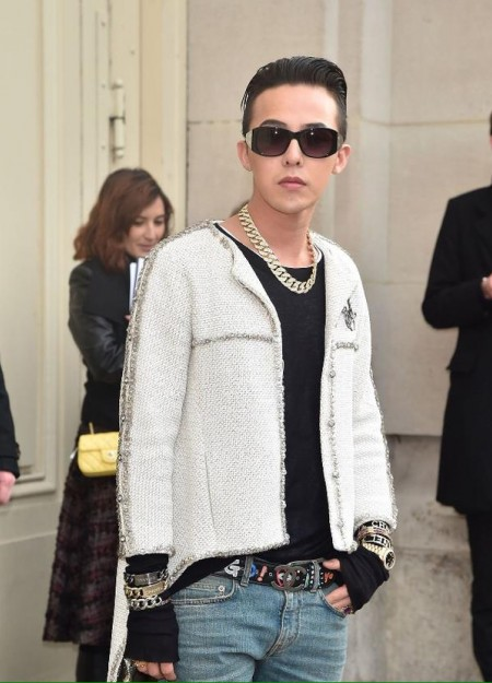 G-Dragon - Chanel Fashion Show - Press - 27 Jan 2015 - 12