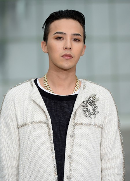 G-Dragon - Chanel Fashion Show - Press - 27 Jan 2015 - 14