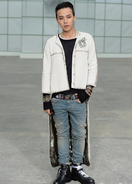 G-Dragon - Chanel Fashion Show - Press - 27 Jan 2015 - 15