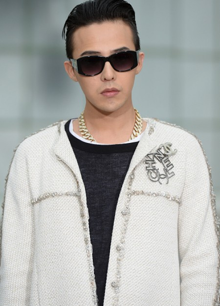 G-Dragon - Chanel Fashion Show - Press - 27 Jan 2015 - 16