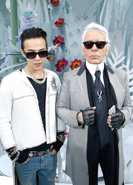 G-Dragon - Chanel Fashion Show - Press - 27 Jan 2015 - 17