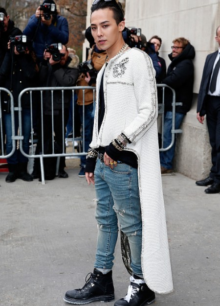 G-Dragon - Chanel Fashion Show - Press - 27 Jan 2015 - 22