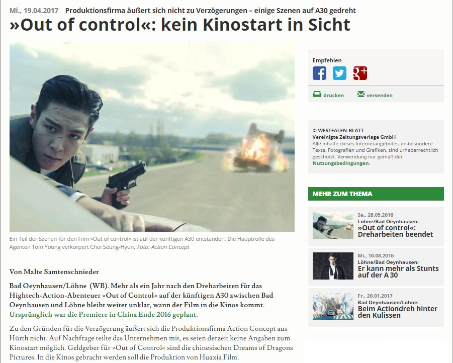 TOP Out of Control Westfalen Blatt April 2017 (1)