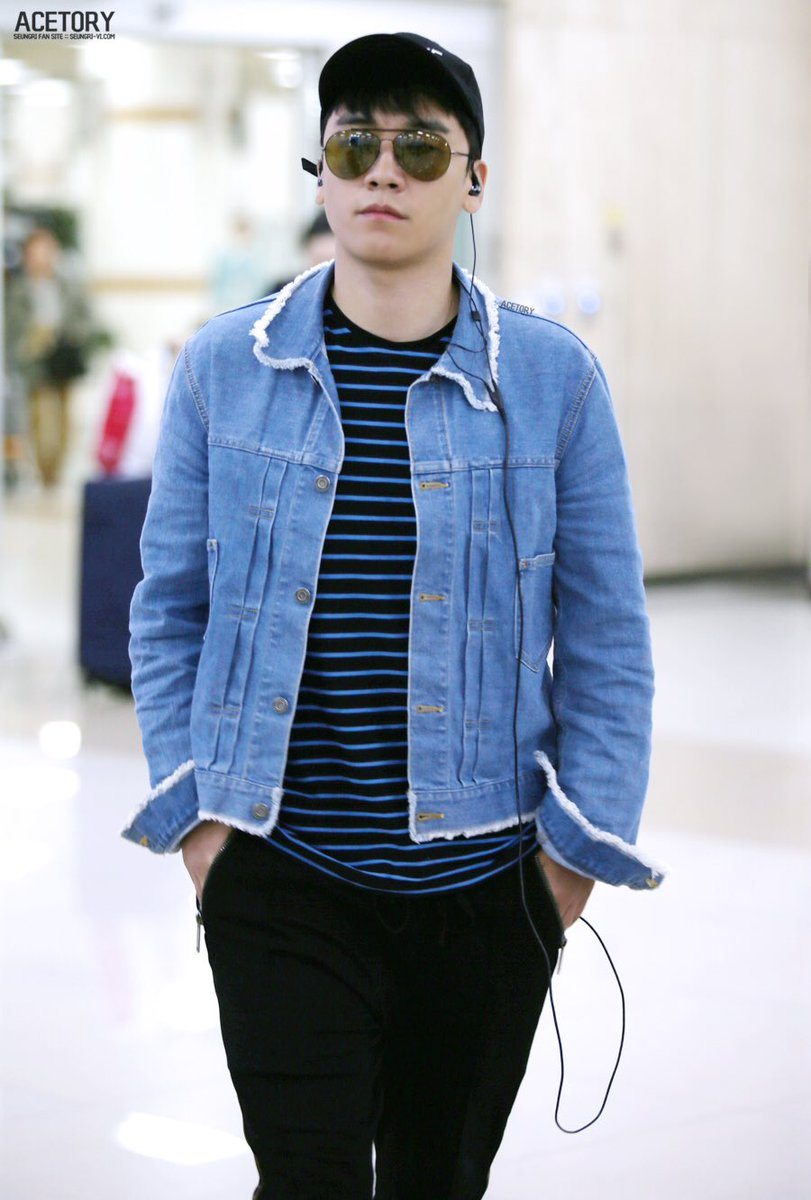 Seungri arrival Seoul from Japan 2017-05-15