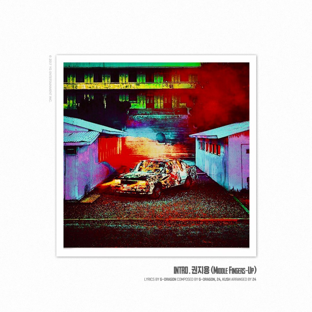 G-DRAGON – 'KWON JI YONG' TRACK COVER (5)