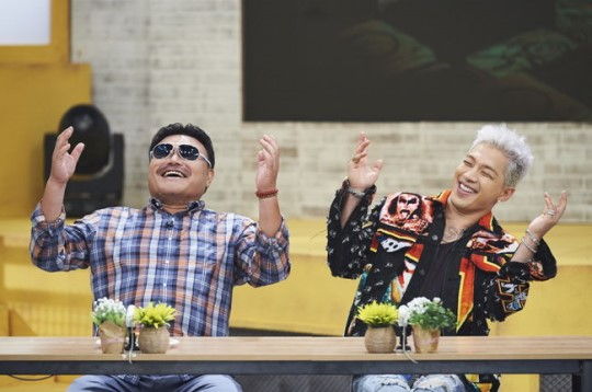Taeyang has pre-recorded 'Oppa Thinking' (오빠생각) with Kim Heung-Gook today, broadcast during August