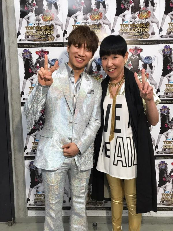 YGEX Daesung Backstage Tokyo Girls Collection 2017-09-02 (1)
