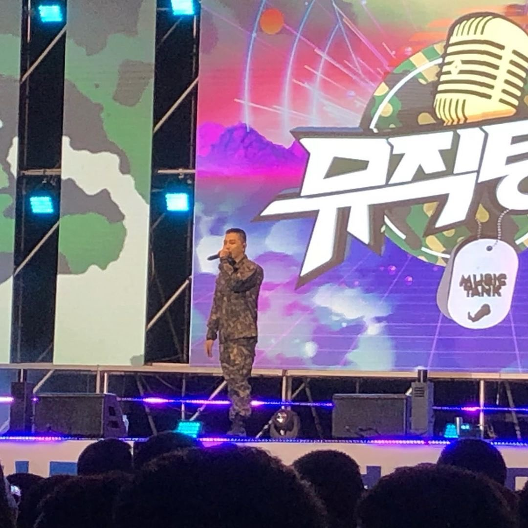 Taeyang on Music Tank 2019-09-24 (2)