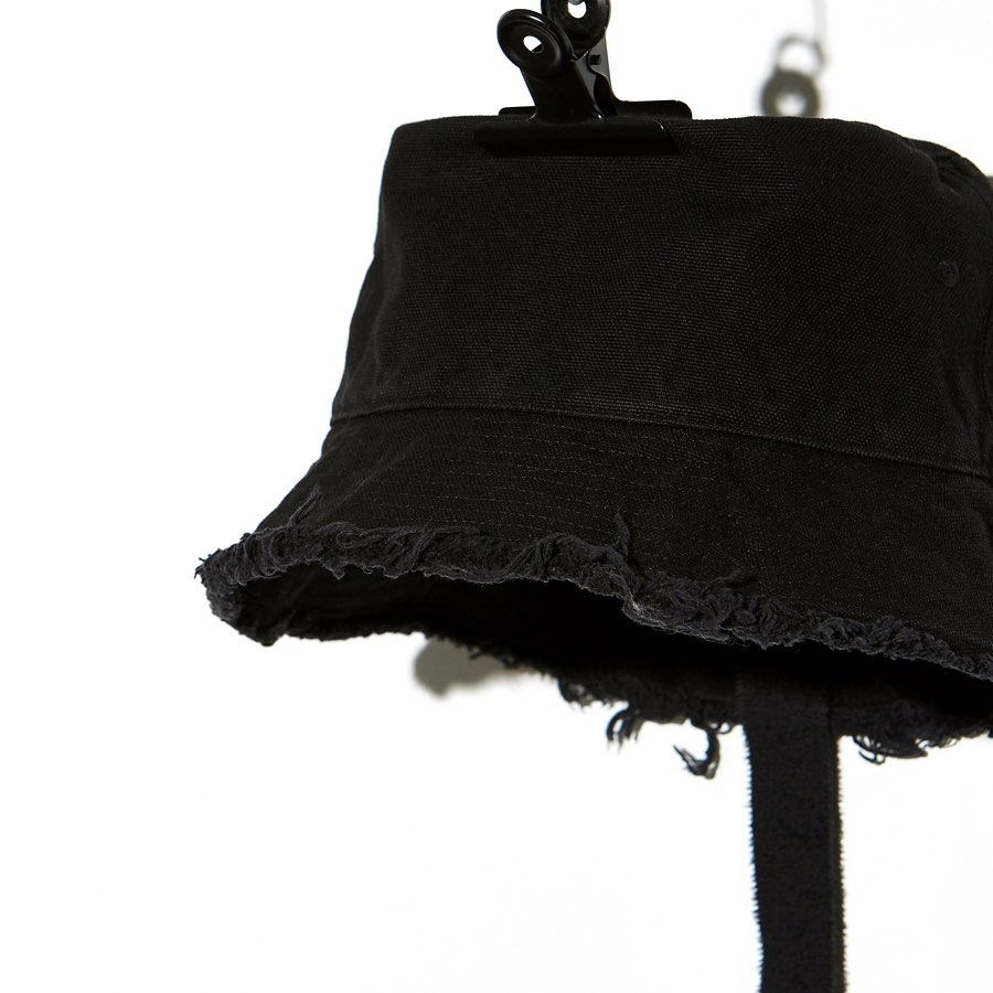 PMO®➖CANVAS BUCKET HAT #1 BLACK