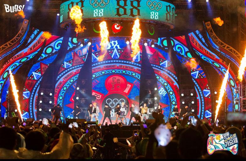 Photos] BUGS on G-Dragon Taeyang with Kwanghee Infinite Challenge