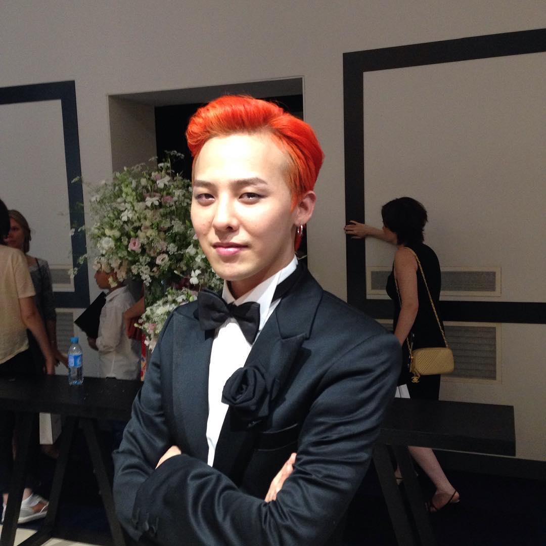 Photos | Videos] 2015-07-07 G-Dragon at Fashion Week in Paris ...
