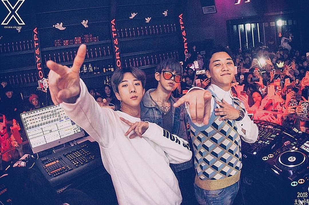 Seungri Instagram Jan 8, 2018 7:56pm @clubx_official 이번주부터 big event 기대하시라 @naturalhighrecord @djglory @tpa_official