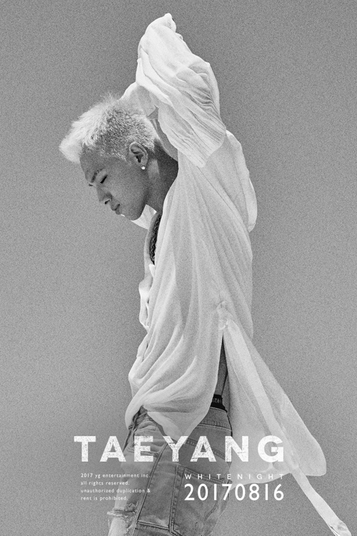 A promotional image for Taeyang