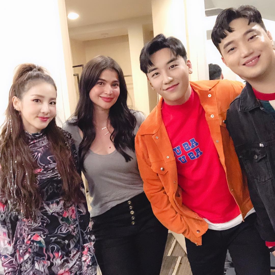 Thank u for support to come my manila special friends plz invite #itsshowtime next time @daraxxi @annecurtissmith @ryanbang #thegreatseungritour2019live #tokyo #osaka #seoul #singapore and more