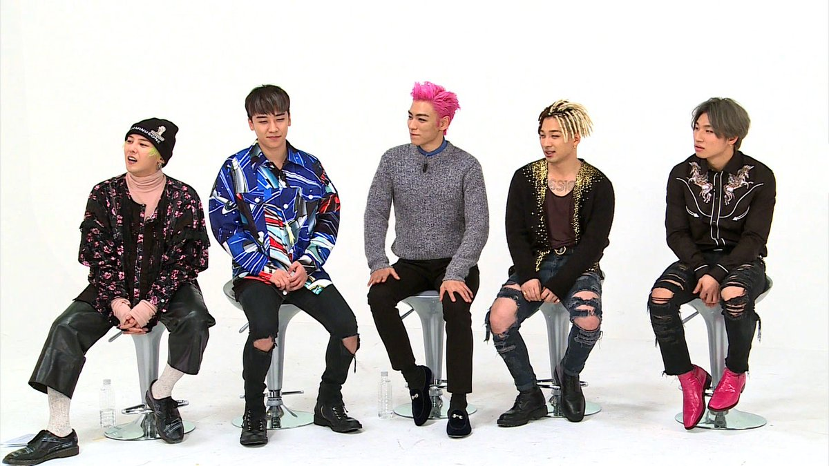 BIGBANG Weekly Idol January 2017 (1)