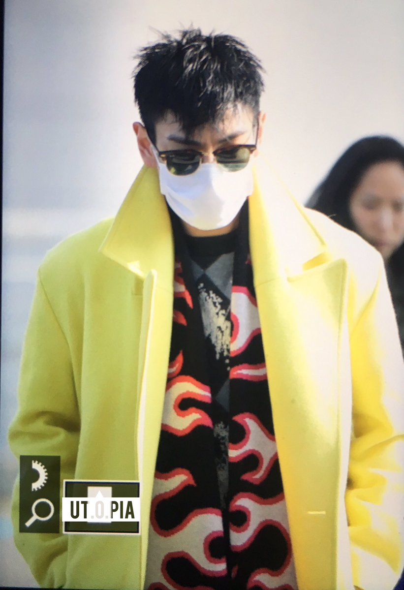 TOP departure Seoul to Los Angeles 2017-01-09 (2)