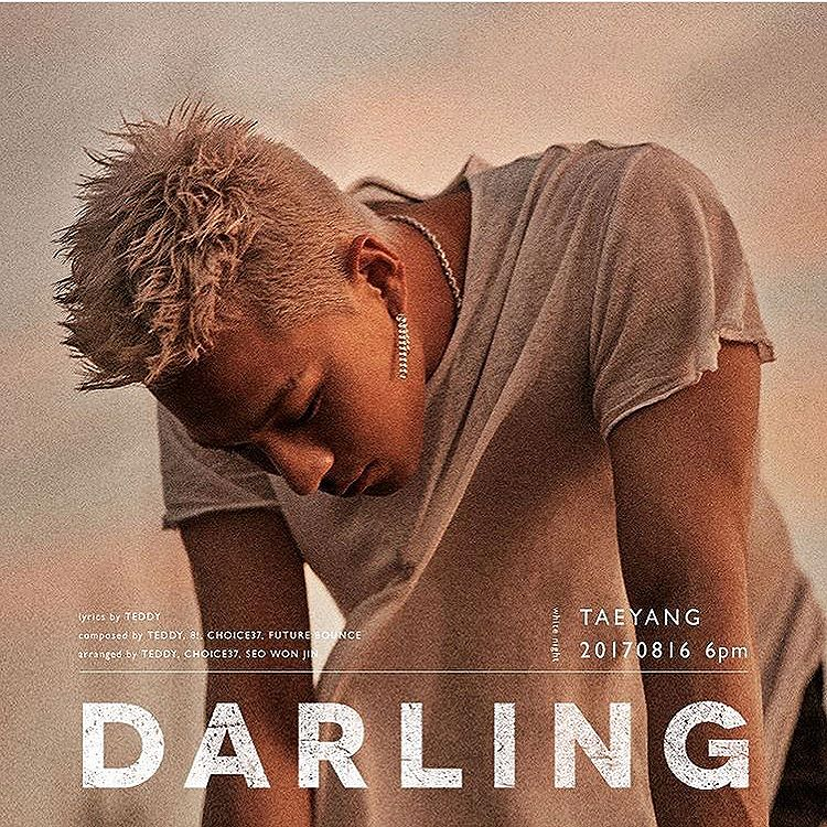 G-Dragon Instagram Aug 10, 2017 11:06pm @__youngbae__ 's New Album is Coming🌪 #TAEYANG #태양 #DARLING #달링 #WHITENIGHT #백야 #170816 #6PM