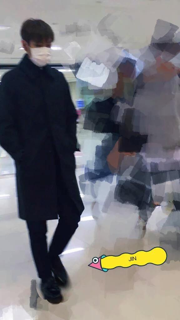 TOP Departure Seoul to Tokyo 2015-11-01 5