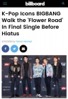 "US Billboard Puts BIGBANG in the Spotlight… ""'K-POP's Most Influential Icons"""