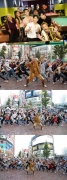 SEUNGRI Proves His Popularity in Japan… Famous Singer Pikotaro Leads the Flash Mob Performing 'WHERE R U FROM'