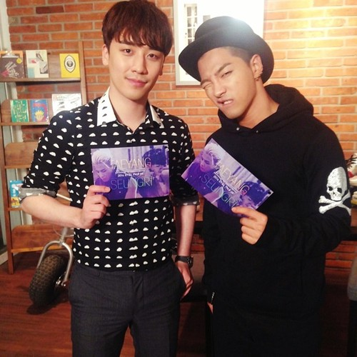 Instagram Update by Seungri: #naver #starcast @youngbeezzy by...